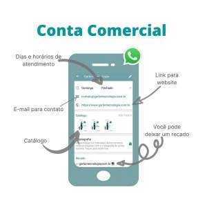 Conta comercial no Whatsapp
